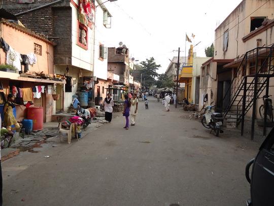 New slum area where project activities have begun