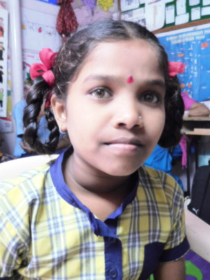 Empower girls like Priti in slums in Pune, India