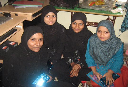 Rubina is second from right.