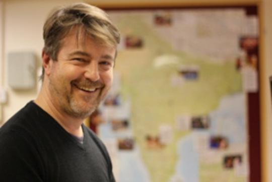 Programme Manager Jonathan Clark