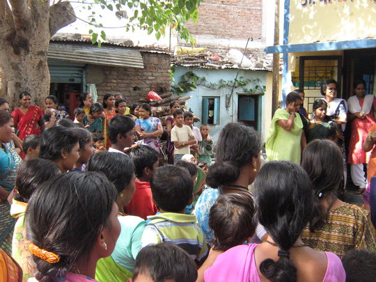 Street play on Anaemia at Bhim Nagar