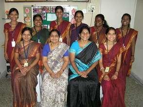 Dr. Manda Mune and her team