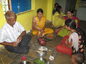 Cookery demonstration at Jadhavnagar