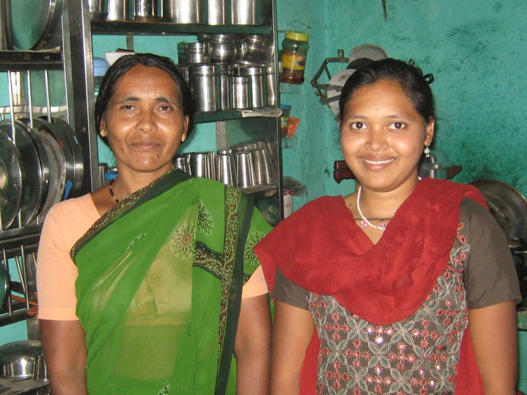 Priti and her mother