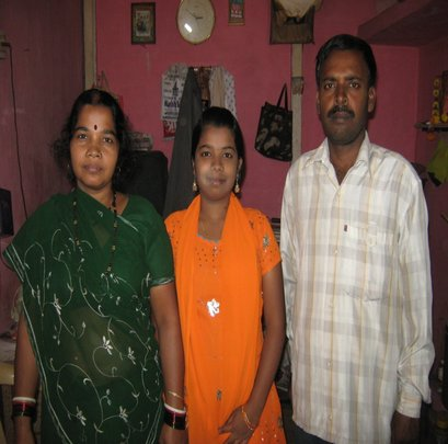 Priti and her parents