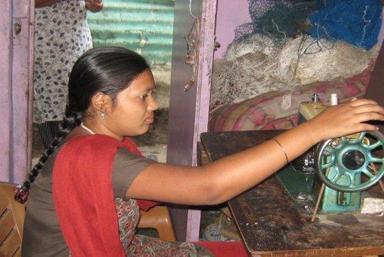 Priti Sewing
