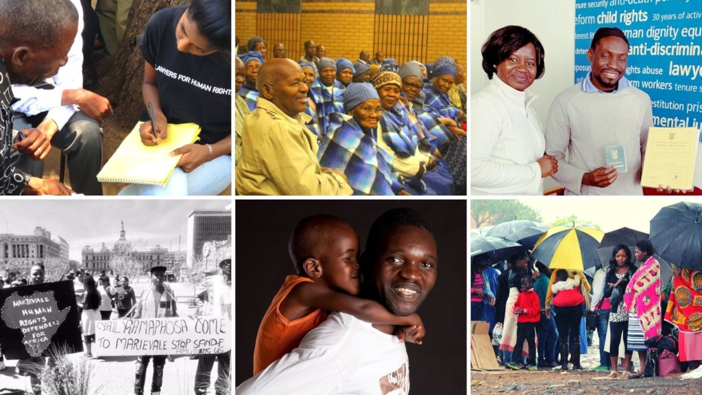 Support access to justice in South Africa