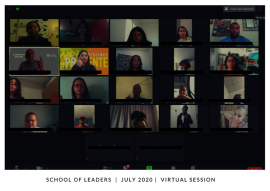 School of Leaders virtual session