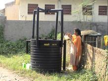 biogas facility under construction