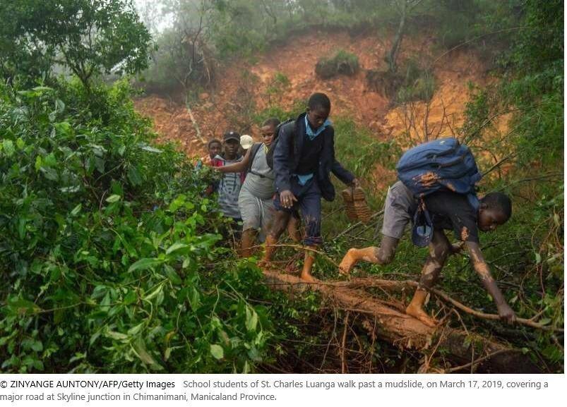 Cyclone Idai damage in Zimbabwe