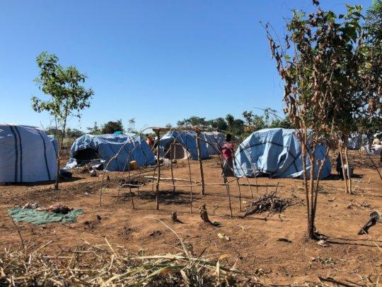 Assessment team surveying the IDP communities.