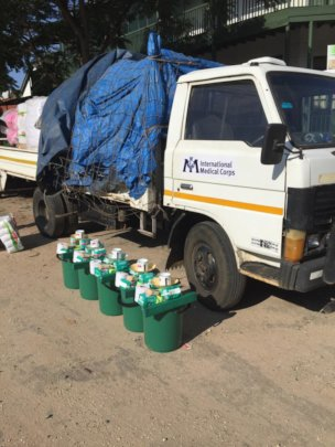 Provision of 500 household hygiene kits