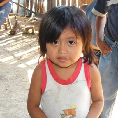 Photos of children from the Bocacosta