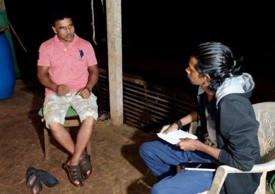 Meeting with Mr. Pandurang Kadam