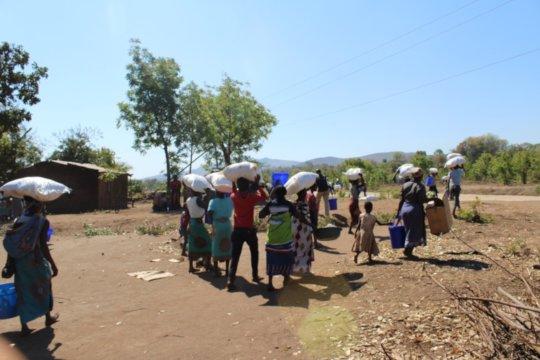 Malawi Families Receive Supplies