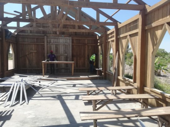 Anglican Church Work in Progress