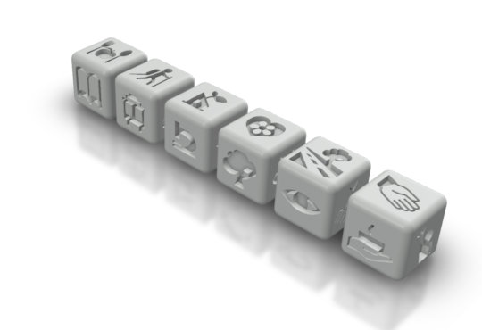 EcoStory Dice are being 3-D printed & tested