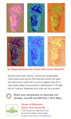 All ages workshops this weekend on Govs Island