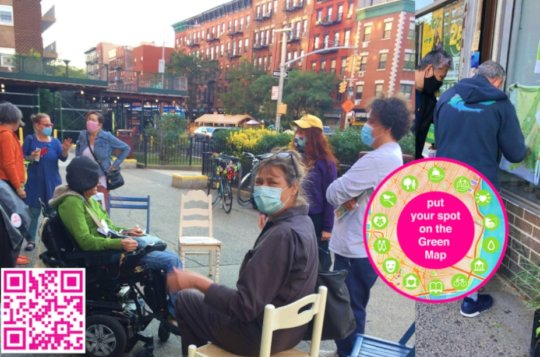 Putting Spots on the East Village Green Map