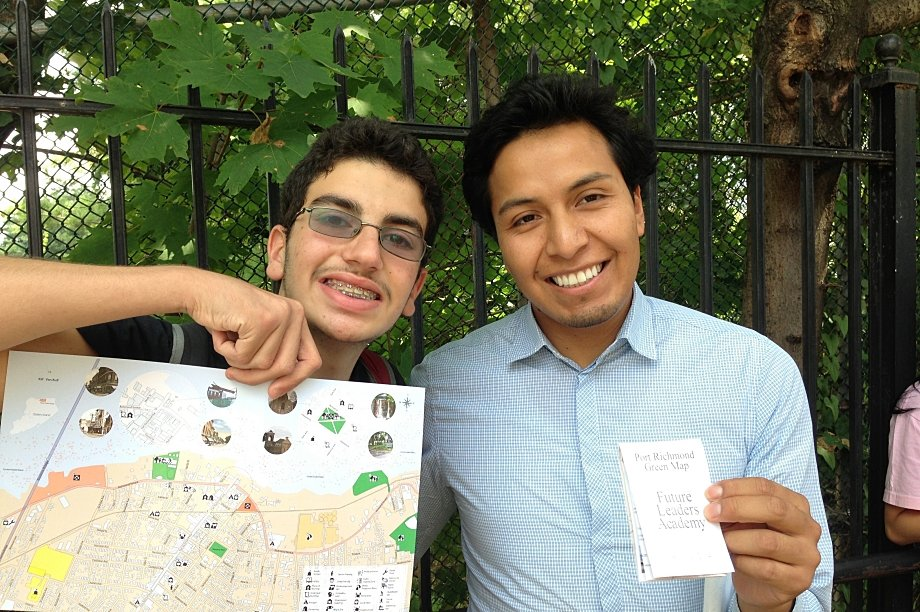 NYC Green Maps + Climate Action