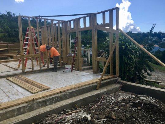 Another rebuild beginning this week.