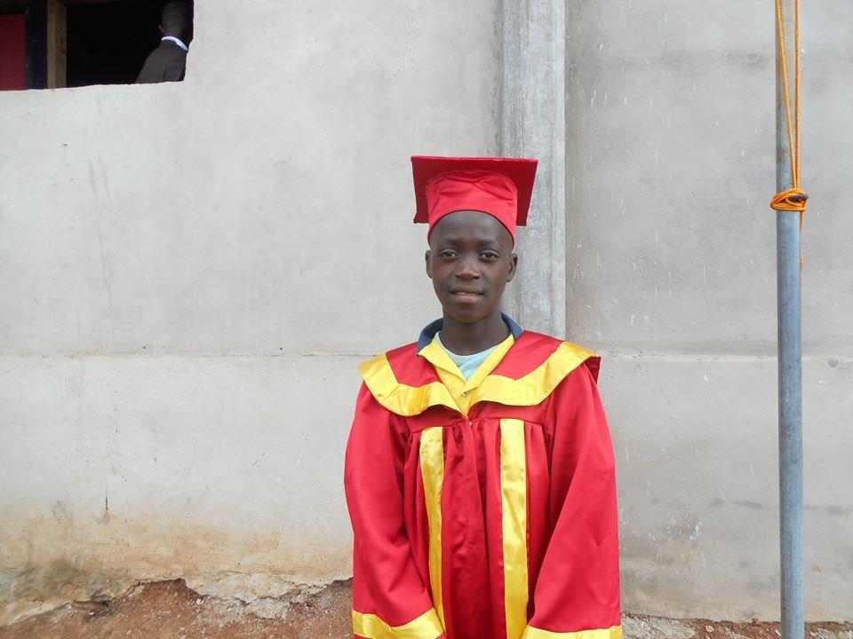 Atangana graduates primary school