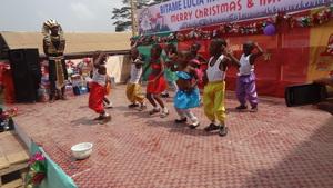Christmas dance performance