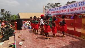 Christmas traditional dance performance