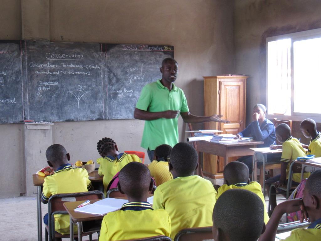Teacher instruction