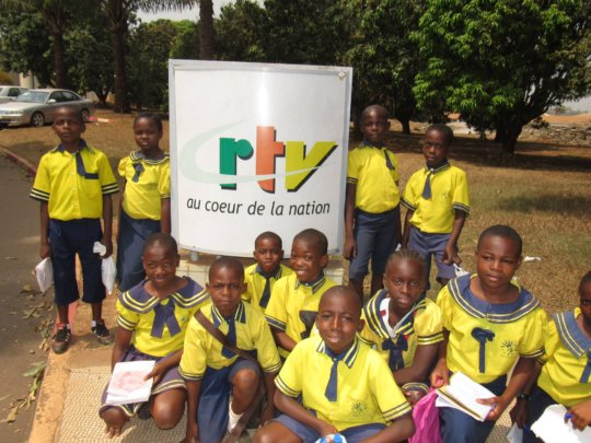 National Radio House - student excursion