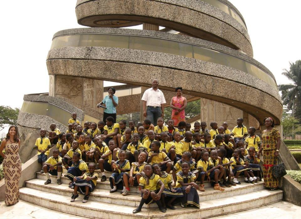kids at the Monument