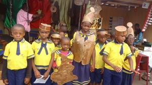 Children visit cultural center