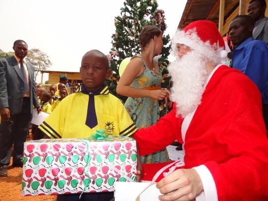 distribution of presents