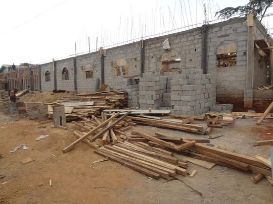 New classroom construction
