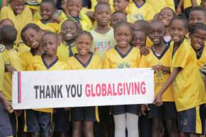 Thank you GlobalGiving donors from the kids
