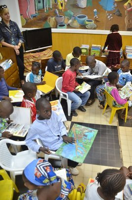 Children at French Cultural Centre