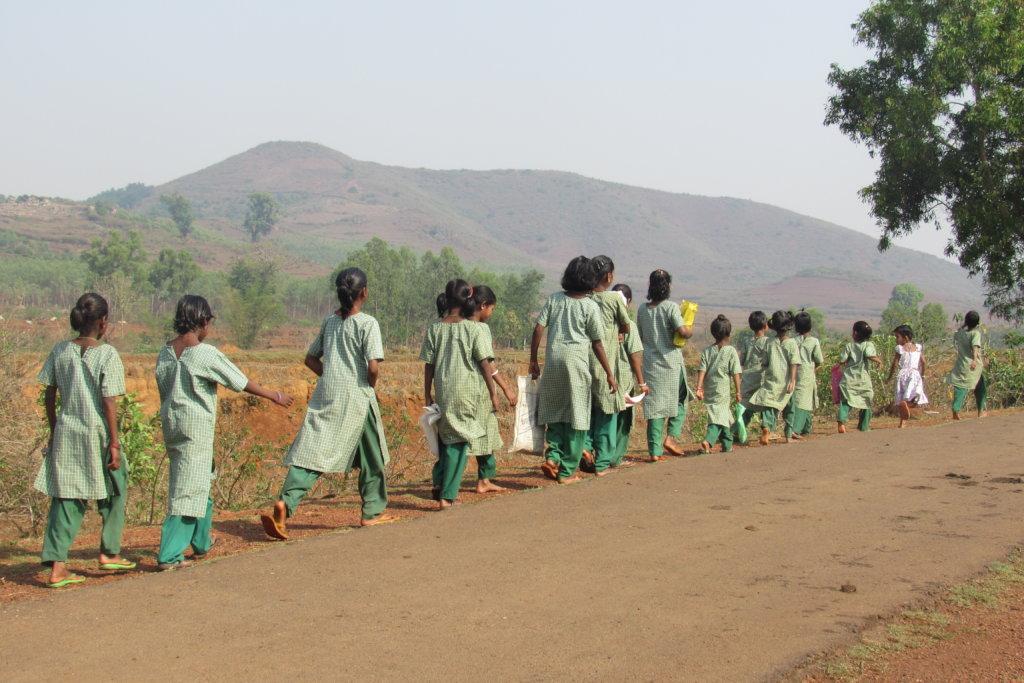 School Bus for 150 Poor Tribal Girls in India