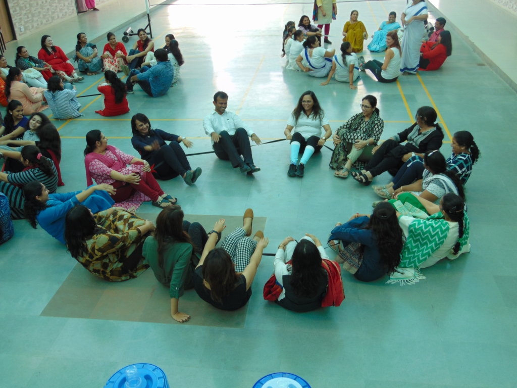 Ativity during Free teacher training workshop