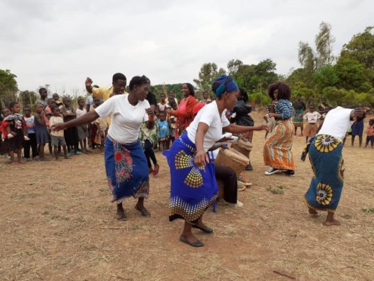 Using traditional dance in community engagement