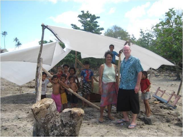 Samoan tsunami relief