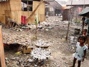 A child's view of the world: Borey Keila slum