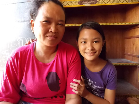 Ena and her mother