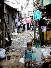 Borey Keila Slum where many FSP families live
