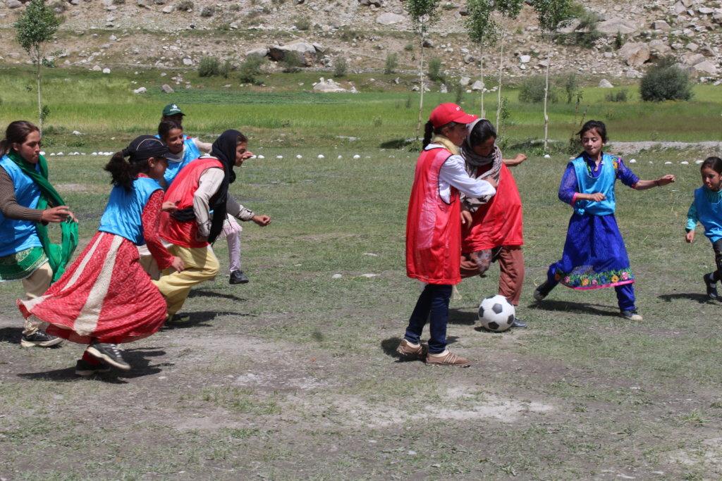 Girls' Soccer in Chitral