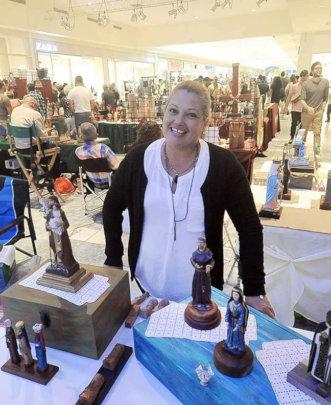 Margaret, Wood Artist, Puerto Rico