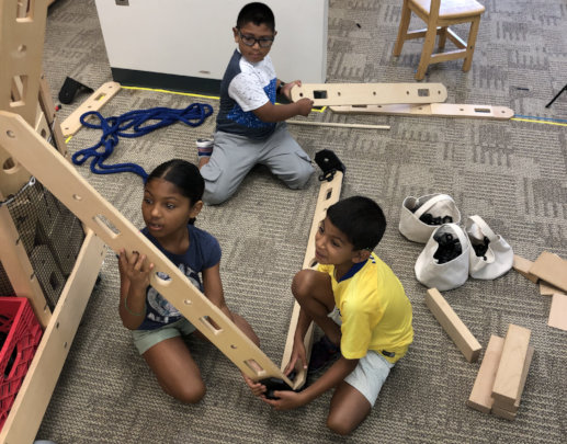 Hands-on engineering and building projects