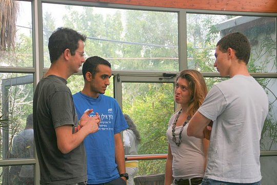 Discussions continue between the formal workshops