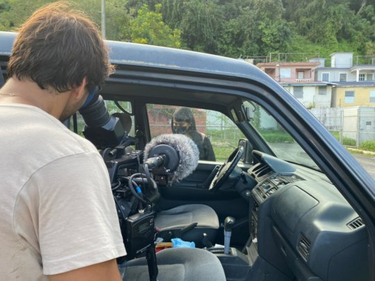 Filming the Documentary in Comerio