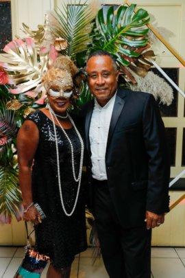 Annual Masquerade Ball Attendees