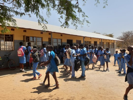 New classroom block for River View pupils
